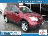 2008 Tango Red Pearl Honda CR-V EX 4WD #27113158