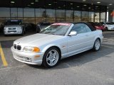 2001 Titanium Silver Metallic BMW 3 Series 330i Convertible #27113619