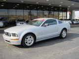 2007 Satin Silver Metallic Ford Mustang GT Premium Coupe #27113620