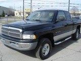 2001 Black Dodge Ram 1500 SLT Club Cab 4x4 #27113639