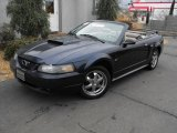 2002 True Blue Metallic Ford Mustang GT Convertible #27113184