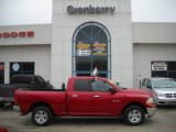 2009 Flame Red Dodge Ram 1500 SLT Quad Cab 4x4 #27113342