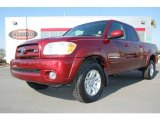 2005 Salsa Red Pearl Toyota Tundra Limited Double Cab 4x4 #2704594