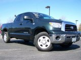 2008 Timberland Green Mica Toyota Tundra Double Cab 4x4 #27113207