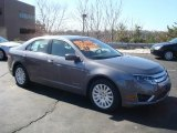 2010 Sterling Grey Metallic Ford Fusion Hybrid #27113362