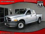 2010 Bright Silver Metallic Dodge Ram 1500 ST Quad Cab #27113213