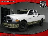 2009 Stone White Dodge Ram 1500 ST Quad Cab #27113217