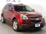 2010 Cardinal Red Metallic Chevrolet Equinox LT AWD #27113695