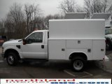 2010 Oxford White Ford F350 Super Duty XL Regular Cab 4x4 Chassis #27113223