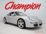2008 Arctic Silver Metallic Porsche 911 Carrera 4S Coupe #27113233