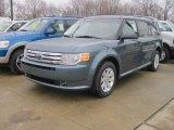 2010 Steel Blue Metallic Ford Flex SE #27113832
