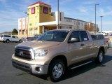 Sandy Beach Metallic Toyota Tundra in 2010