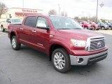 2010 Salsa Red Pearl Toyota Tundra Limited CrewMax 4x4 #27169211