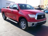 2010 Radiant Red Toyota Tundra SR5 Double Cab 4x4 #27169213