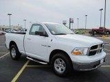 2010 Stone White Dodge Ram 1500 SLT Regular Cab 4x4 #27169338