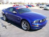 2005 Windveil Blue Metallic Ford Mustang GT Premium Coupe #27169238