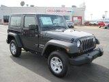 2010 Dark Charcoal Pearl Jeep Wrangler Sport 4x4 #27169365