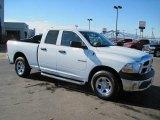 2010 Stone White Dodge Ram 1500 ST Quad Cab 4x4 #27169377