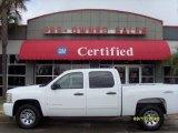 2009 Summit White Chevrolet Silverado 1500 LT Crew Cab 4x4 #27168803