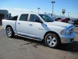 2010 Stone White Dodge Ram 1500 Big Horn Crew Cab #27169381