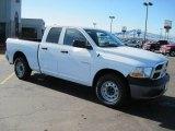 2010 Stone White Dodge Ram 1500 ST Quad Cab 4x4 #27169383