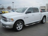 2010 Stone White Dodge Ram 1500 Big Horn Crew Cab 4x4 #27169389