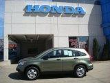 2007 Green Tea Metallic Honda CR-V LX 4WD #27168807
