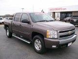 2008 Desert Brown Metallic Chevrolet Silverado 1500 LT Crew Cab 4x4 #27169269
