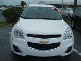 2010 Summit White Chevrolet Equinox LS #27168812