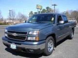 2006 Blue Granite Metallic Chevrolet Silverado 1500 LT Crew Cab #27168542
