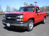 2006 Victory Red Chevrolet Silverado 1500 Regular Cab #27168543