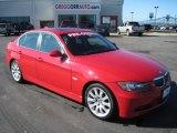 2006 Electric Red BMW 3 Series 330i Sedan #27169402