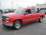 2006 Victory Red Chevrolet Silverado 1500 Extended Cab #27169406