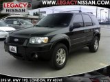 2006 Black Ford Escape Limited 4WD #27168728