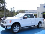 2010 Oxford White Ford F150 Lariat SuperCab 4x4 #27168851
