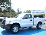 2010 Ingot Silver Metallic Ford F150 XL Regular Cab #27168852