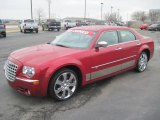 2008 Inferno Red Crystal Pearl Chrysler 300 C HEMI #27169427