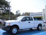 2010 Oxford White Ford F150 XL SuperCab #27168859