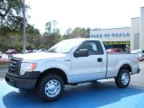 2010 Ingot Silver Metallic Ford F150 XL Regular Cab #27168863