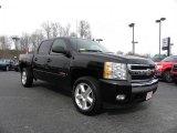 2007 Black Chevrolet Silverado 1500 LT Z71 Crew Cab 4x4 #27168962