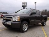 2010 Taupe Gray Metallic Chevrolet Silverado 1500 LS Extended Cab #27169100