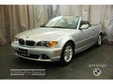 2004 Titanium Silver Metallic BMW 3 Series 325i Convertible #27168577