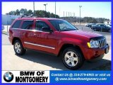 2006 Inferno Red Crystal Pearl Jeep Grand Cherokee Limited #27169111