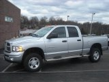 Bright Silver Metallic Dodge Ram 3500 in 2004