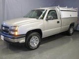2006 Silver Birch Metallic Chevrolet Silverado 1500 LS Regular Cab 4x4 #27169160