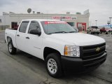 2009 Summit White Chevrolet Silverado 1500 Crew Cab 4x4 #27169450