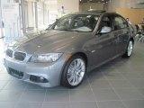 2010 Space Gray Metallic BMW 3 Series 335i Sedan #27169607
