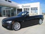 2010 Black Sapphire Metallic BMW 3 Series 328i Convertible #27169609