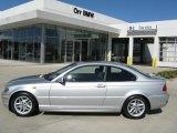 2004 Titanium Silver Metallic BMW 3 Series 325i Coupe #27169616