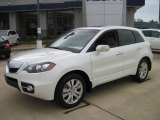 2010 White Diamond Pearl Acura RDX SH-AWD Technology #27169475